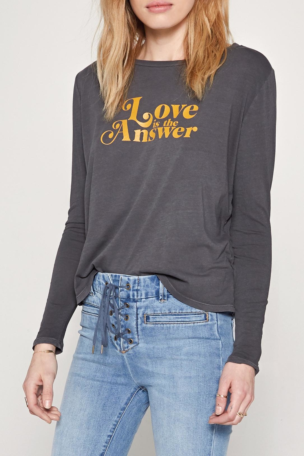 AMUSE SOCIETY Love Tee - Front Cropped Image