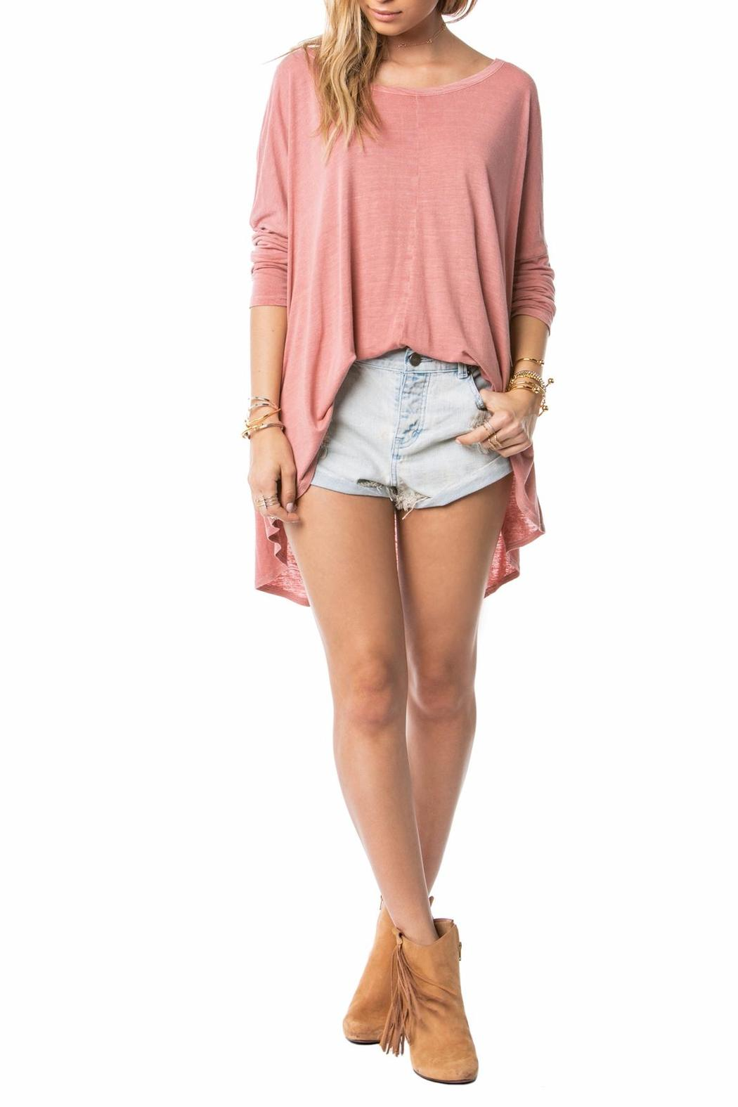 AMUSE SOCIETY Lyra Knit Top - Side Cropped Image