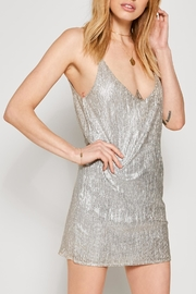AMUSE SOCIETY Metallic Slip Dress - Product Mini Image