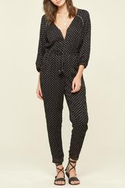 AMUSE SOCIETY Moroccan Print Jumper - Front full body