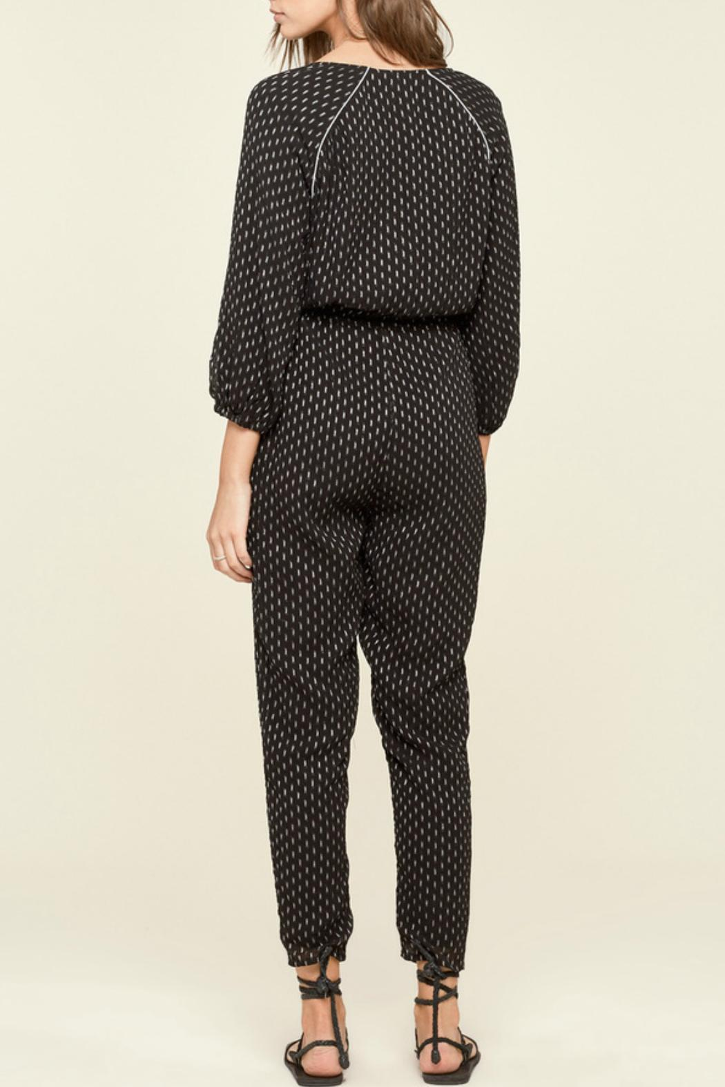 AMUSE SOCIETY Moroccan Print Jumper - Side Cropped Image