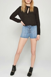AMUSE SOCIETY Paislee Woven Top - Side cropped