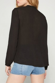 AMUSE SOCIETY Paislee Woven Top - Front full body