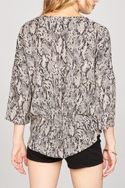 AMUSE SOCIETY River Woven Top - Front full body