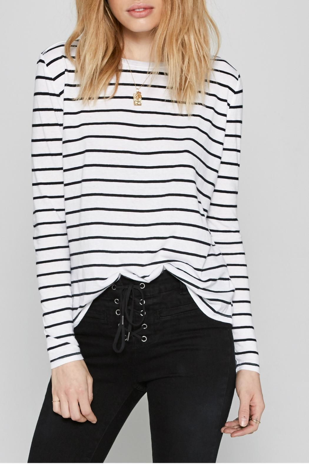 AMUSE SOCIETY Ryan Stripe Tee - Front Cropped Image