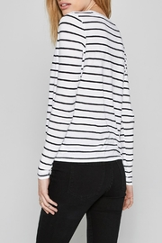 AMUSE SOCIETY Ryan Stripe Tee - Front full body