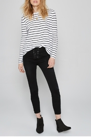 AMUSE SOCIETY Ryan Stripe Tee - Side cropped