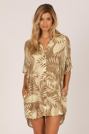 AMUSE SOCIETY Shady Palms Dress - Product Mini Image