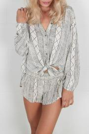 AMUSE SOCIETY Spell Bound Woven Blouse - Product Mini Image