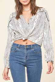 AMUSE SOCIETY Spellbound Woven Top - Product Mini Image
