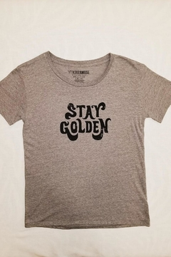 Shoptiques Product: Stay Golden Tee