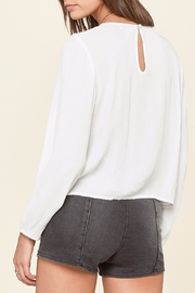 AMUSE SOCIETY Sunset Rose Top - Front full body