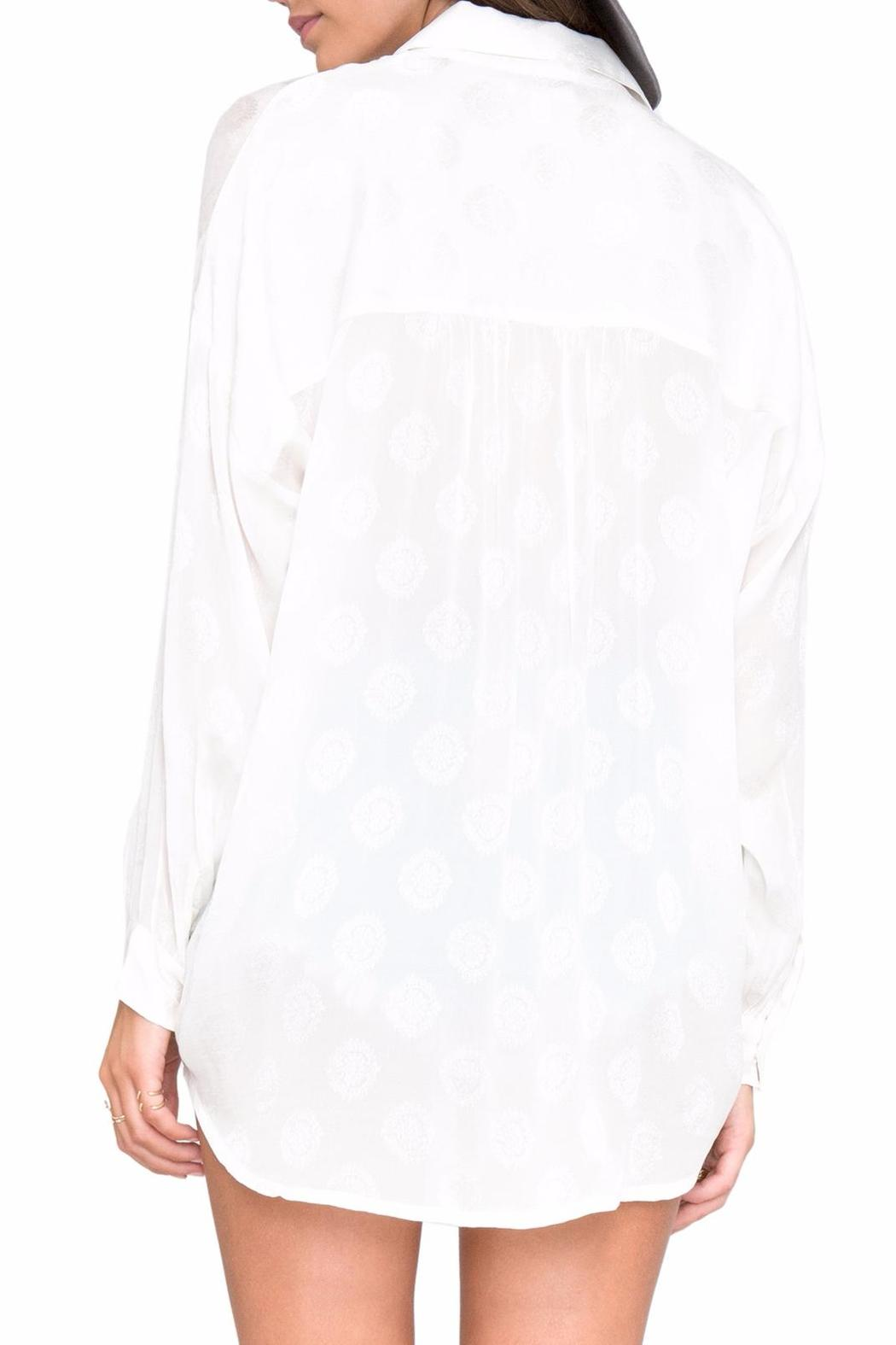 AMUSE SOCIETY Tahara Woven Top - Side Cropped Image