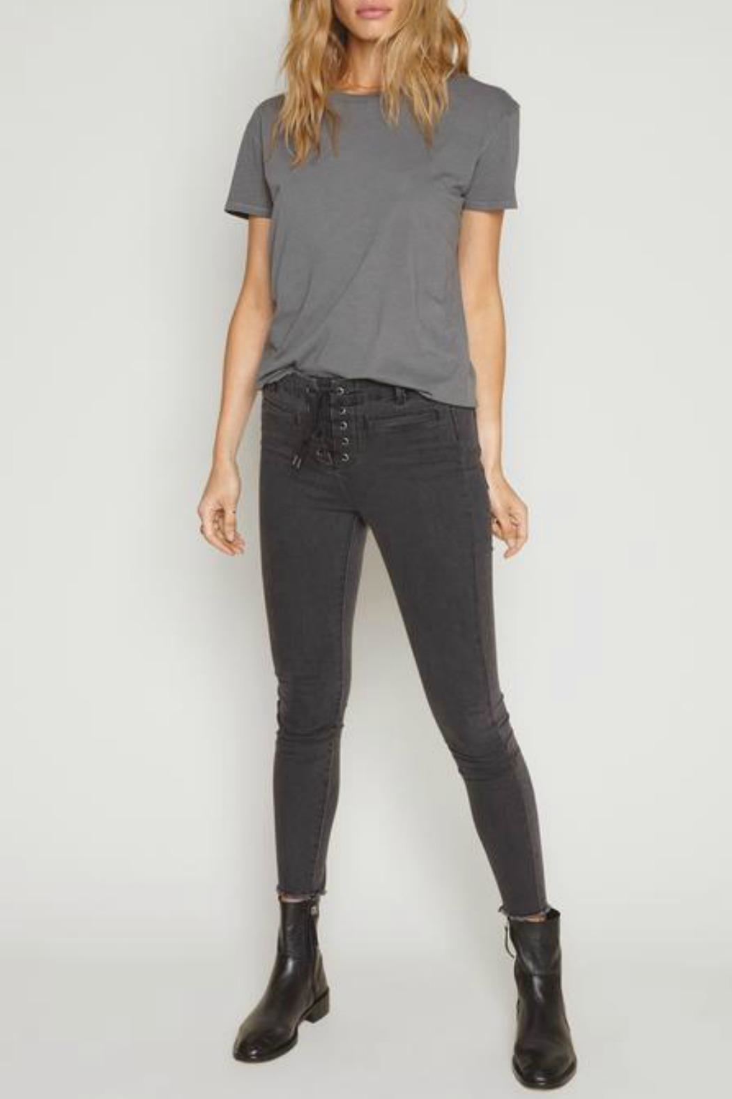 AMUSE SOCIETY Tanner Solid Tee - Side Cropped Image