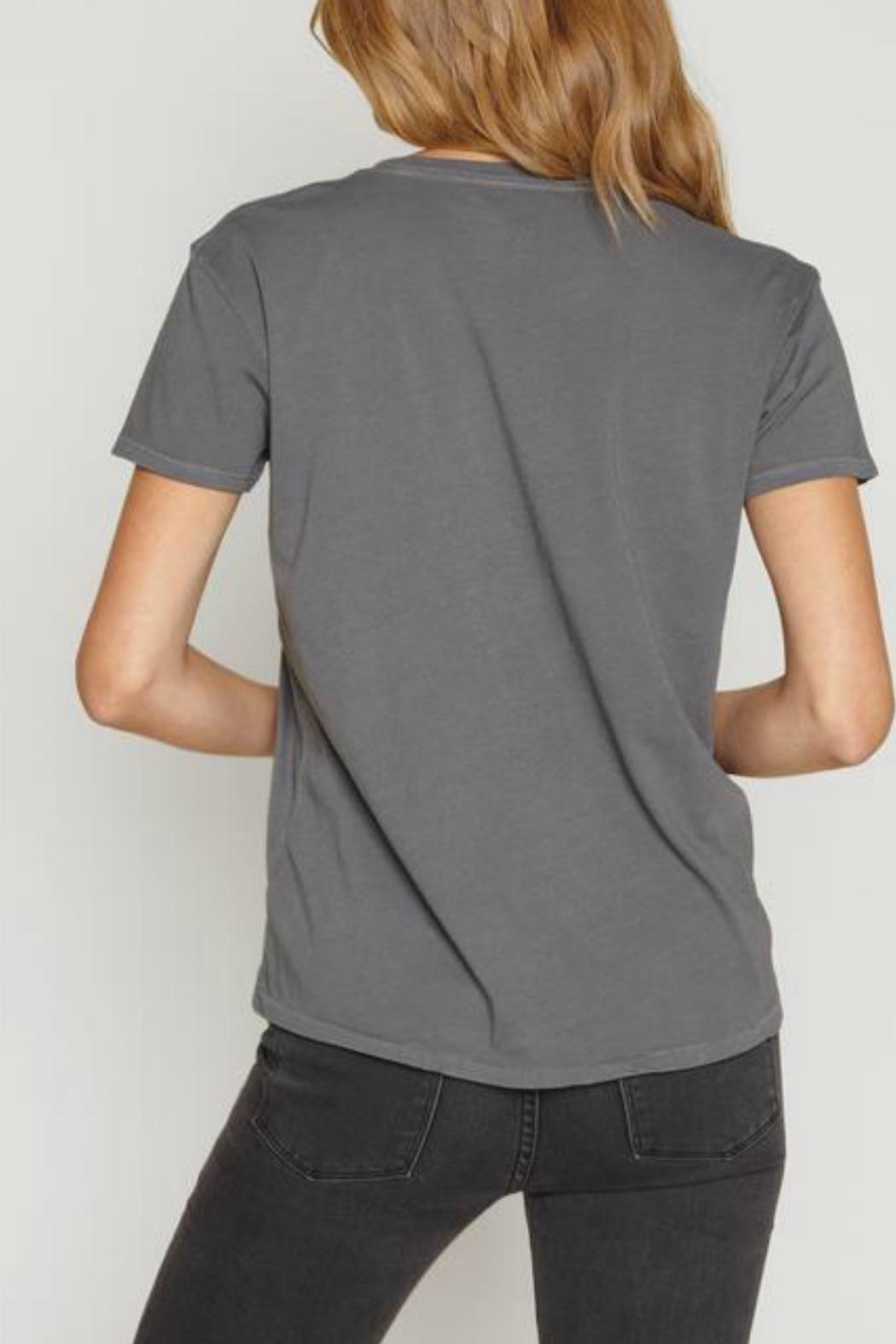 AMUSE SOCIETY Tanner Solid Tee - Front Full Image