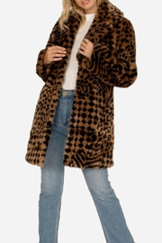 AMUSE SOCIETY Vera Faux Fur - Front cropped