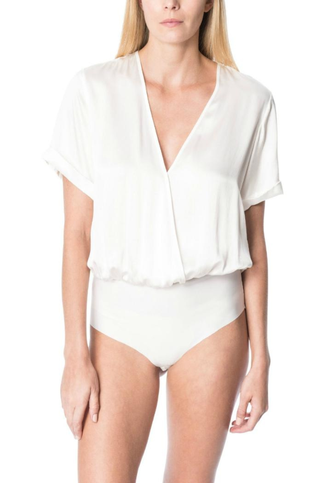 Cami NYC Amy Bodysuit - Front Cropped Image