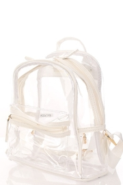 FAME ACCESORIES Amy Clear Backpack - Product Mini Image