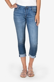 Kut from the Kloth Amy Crop Straight Leg - Product Mini Image