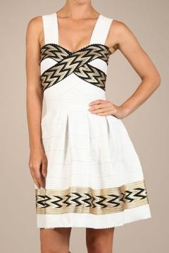 Shoptiques Product: Aztec Gold Dress