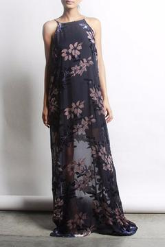 Shoptiques Product: Floral Velvet Dress