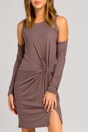 Amy's Allie  Gathered Cold Shoulder - Front cropped