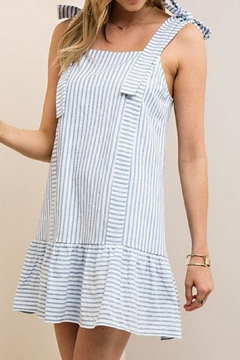 Shoptiques Product: Megan Striped Dress