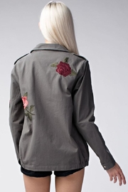 Amy's Allie  Rose Army Jacket - Front full body