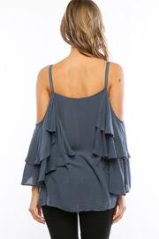 Amy's Allie  Ruffled Bell Blouse - Side cropped