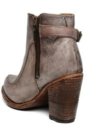 Amy's Allie  Stacked Leather Bootie - Front full body