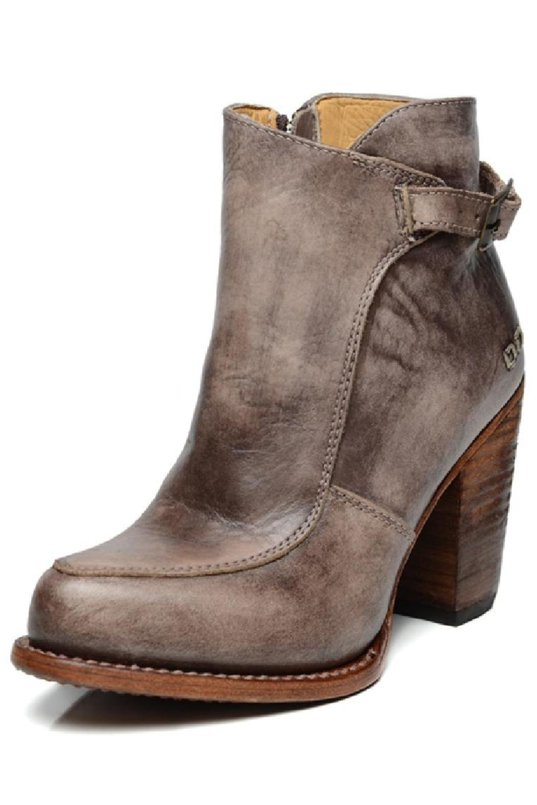 Amy's Allie  Stacked Leather Bootie - Main Image