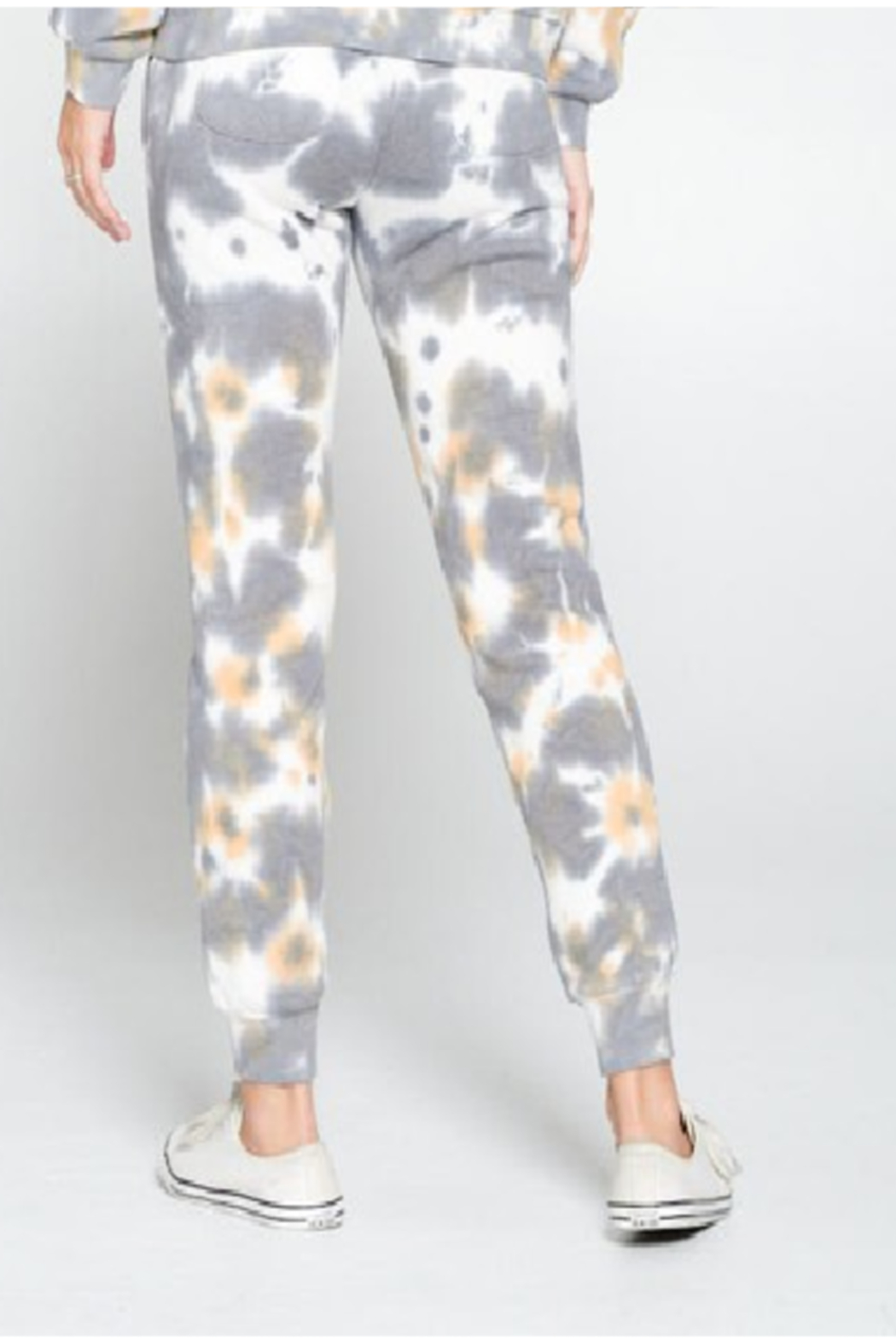 Cest Toi Amy Tye Dye Jogger - Front Full Image