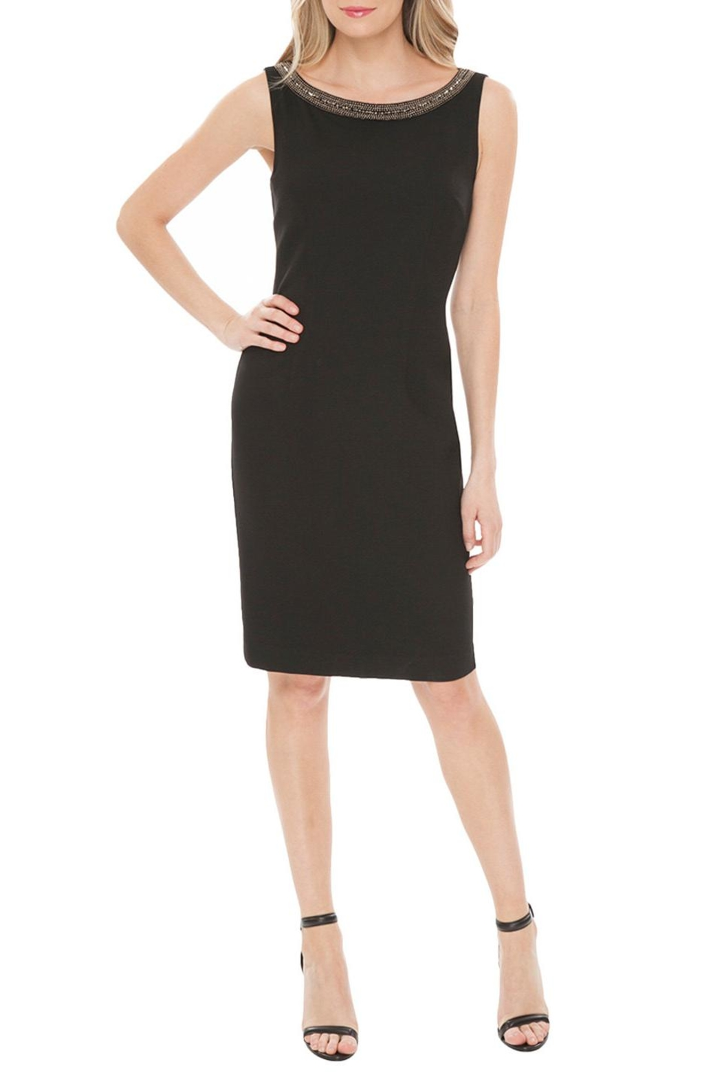 Amy Matto Caterina Embelished Dress - Front Cropped Image