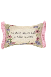 Manual Woodworkers and Weavers An Aunt Pillow - Front cropped