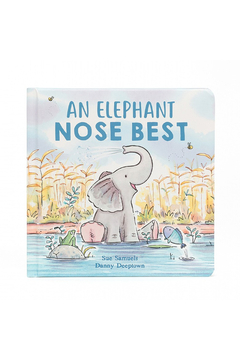 Jellycat AN ELEPHANT NOSE BEST BOOK - Product List Image