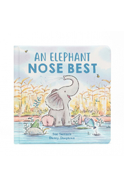 Jellycat AN ELEPHANT NOSE BEST BOOK - Front cropped