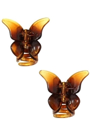 Ana Accessories Butterfly Clip - Product Mini Image