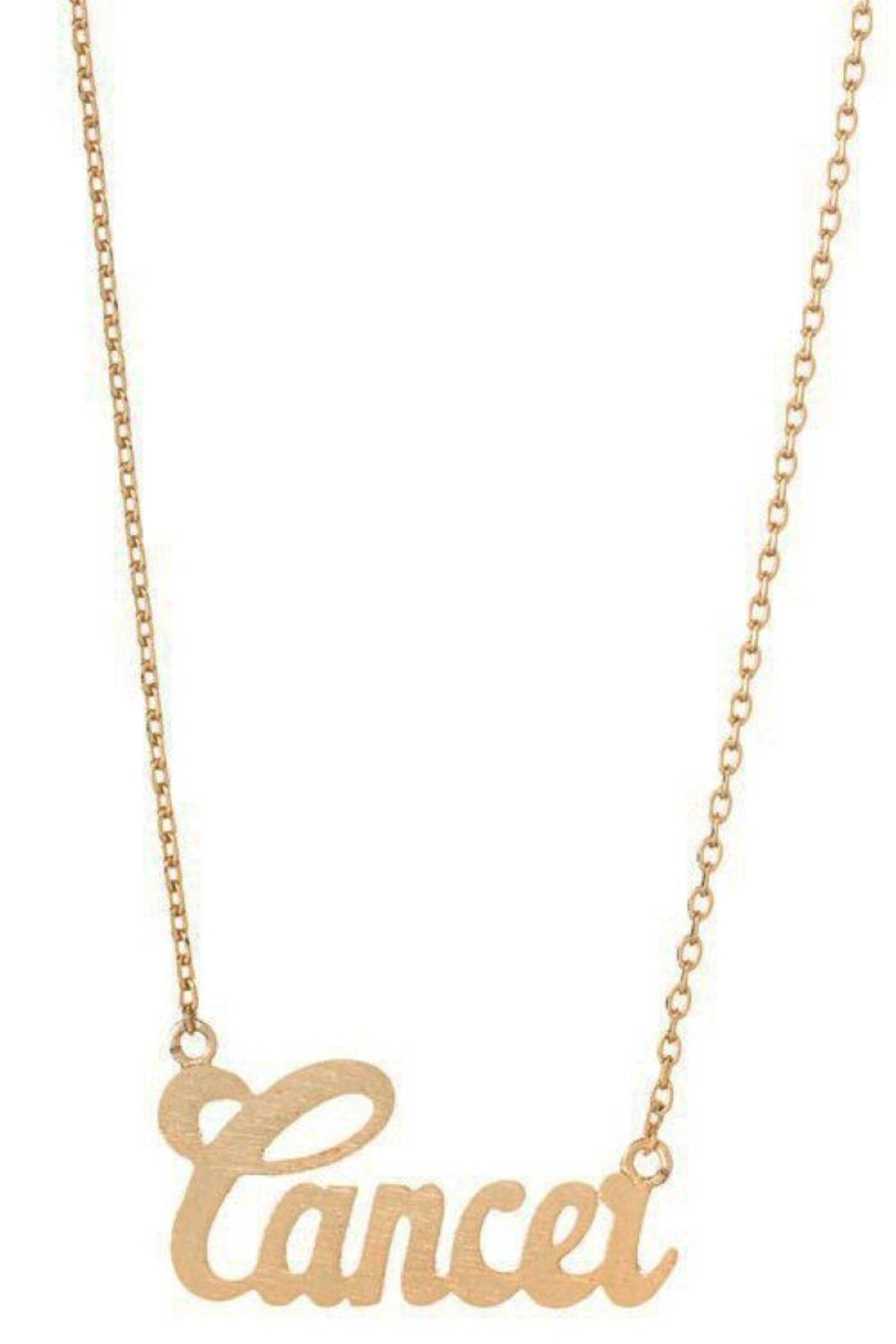 Ana Accessories Cancer Necklace - Main Image