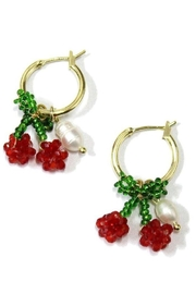 Ana Accessories Cherry Bead Earring - Product Mini Image