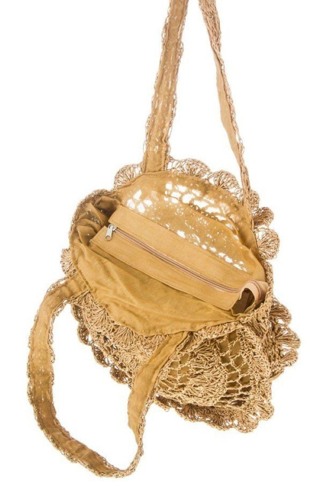 Ana Accessories Crochet Circle Bag - Side Cropped Image