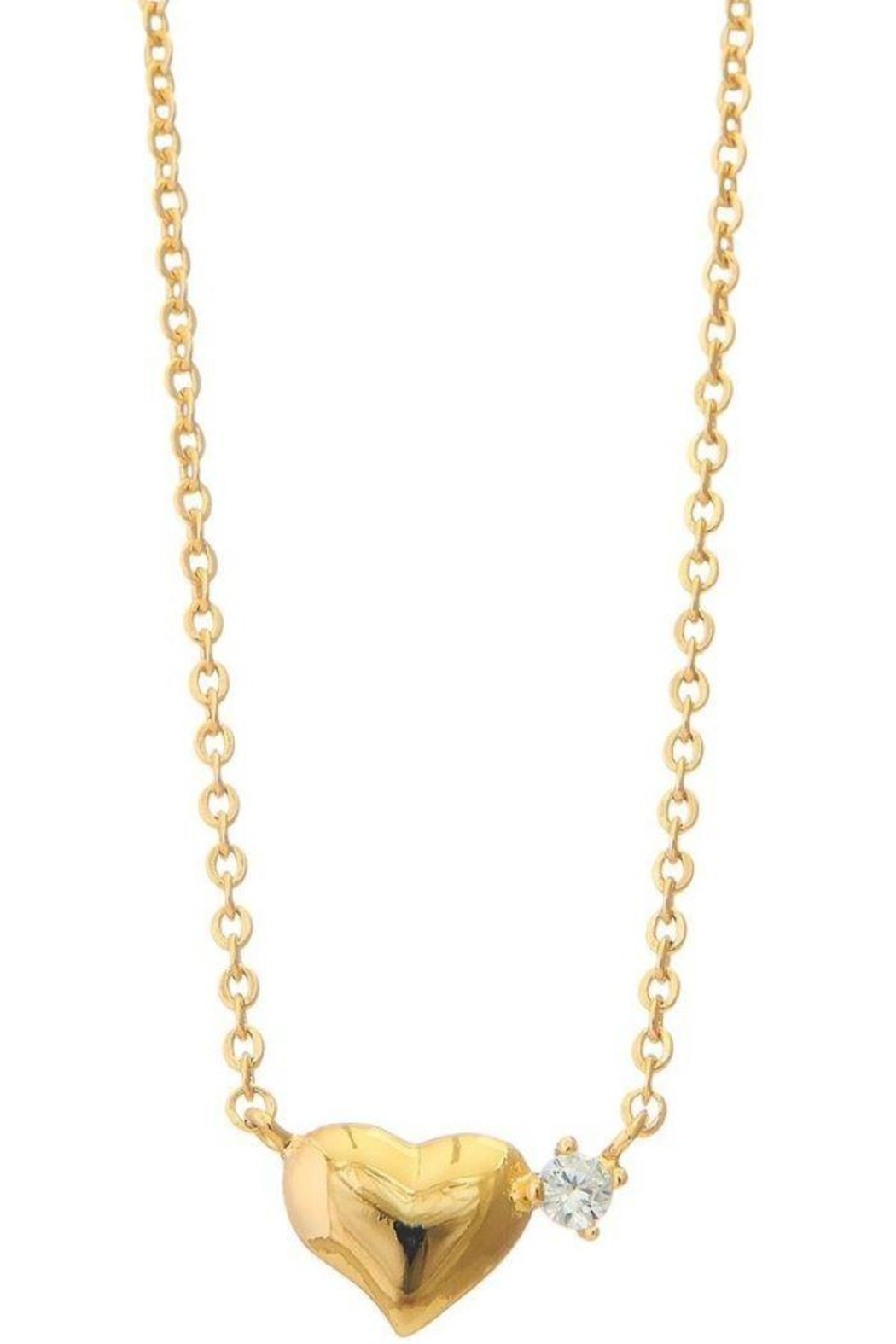 Ana Accessories Dainty Heart Necklace - Main Image