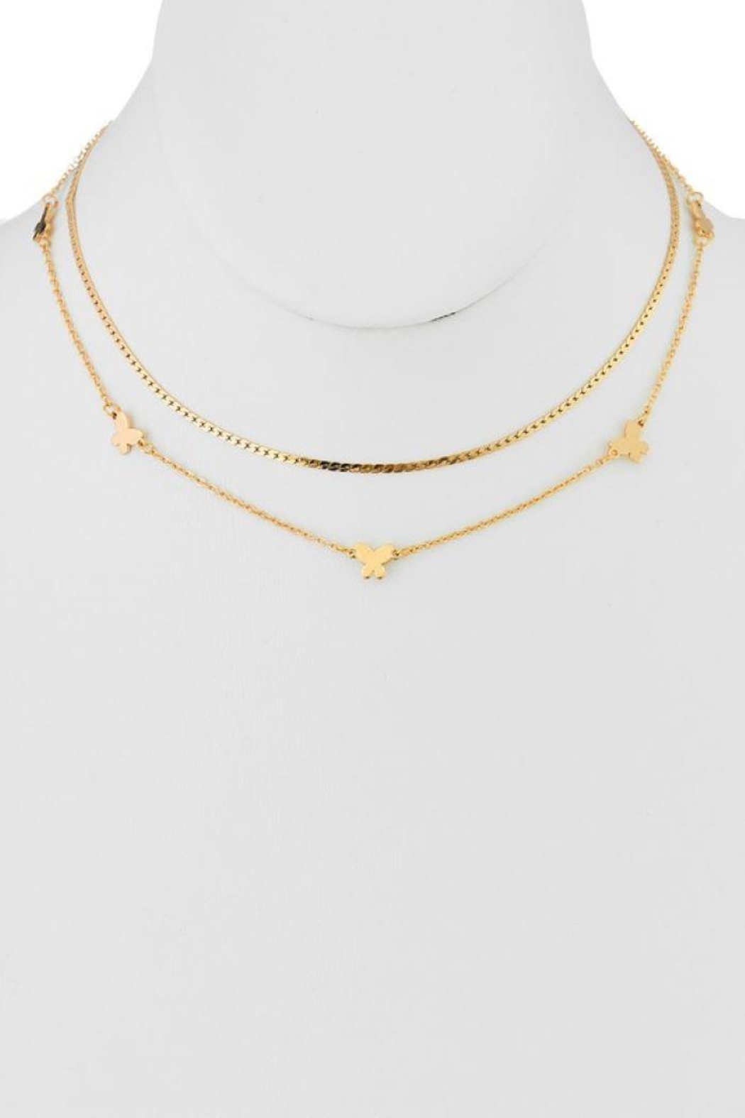 Ana Accessories Double Layer Choker - Main Image