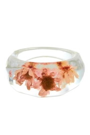 Ana Accessories Dried Flower Ring - Product Mini Image