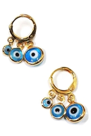 Ana Accessories Evil Eye Earring - Product Mini Image