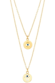 Ana Accessories Eye Pendant Chain Necklace - Product Mini Image