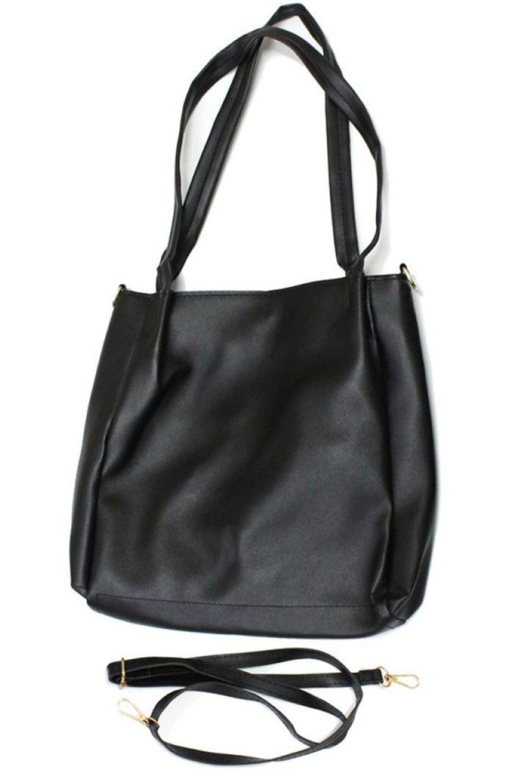 Ana Accessories Faux Leather Crossbody Bag - Main Image