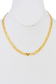 Ana Accessories Flat Chain Choker Necklace - Product Mini Image
