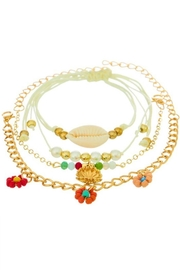 Ana Accessories Four Layered Anklet - Product Mini Image