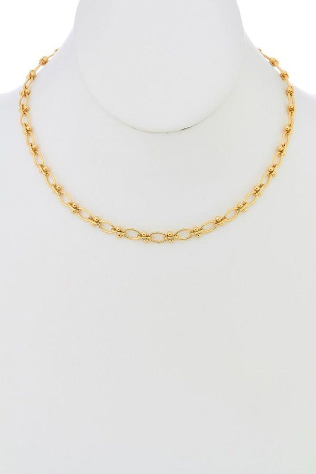 Ana Accessories Girl Chain Necklace - Main Image