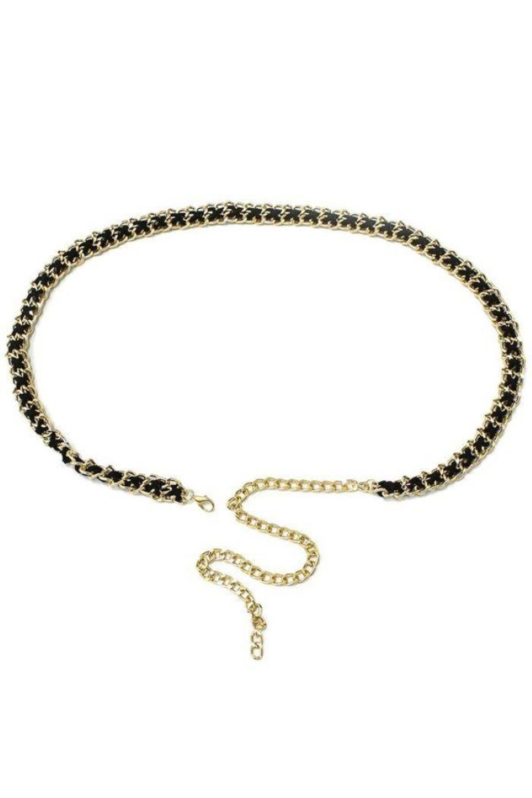 Ana Accessories Gold Plated Chain Belt - Main Image